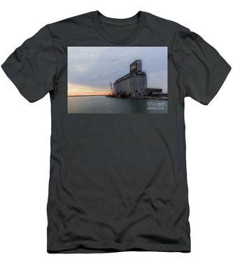 Artistic Sunset Men's T-Shirt (Athletic Fit)