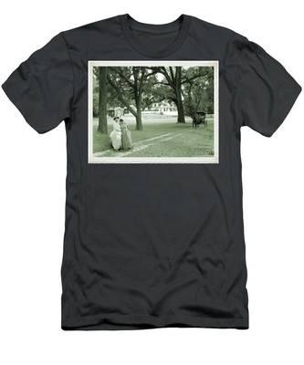 Back In Time At Hardman Farm Men's T-Shirt (Athletic Fit)