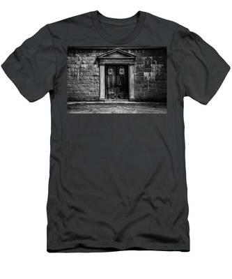 Bar Across The Door Men's T-Shirt (Athletic Fit)