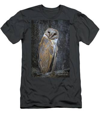 Barn Owl Men's T-Shirt (Athletic Fit)
