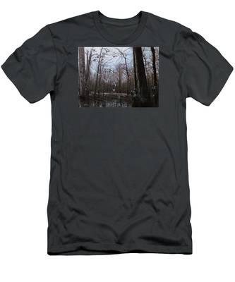 Bayou Meto Morning Men's T-Shirt (Athletic Fit)