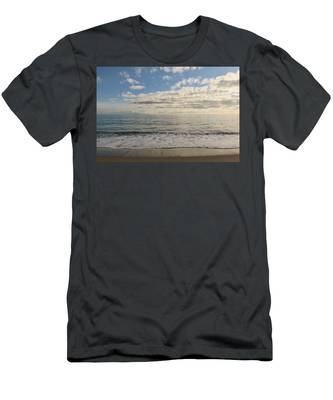 Men's T-Shirt (Athletic Fit) featuring the photograph Beach Day - 2 by Christy Pooschke