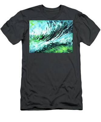 Behind The Curtain Men's T-Shirt (Athletic Fit)