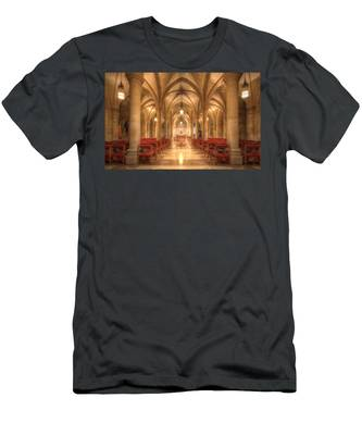 Bethlehem Chapel Washington National Cathedral Men's T-Shirt (Athletic Fit)