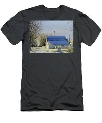 Blue Sunday Men's T-Shirt (Athletic Fit)