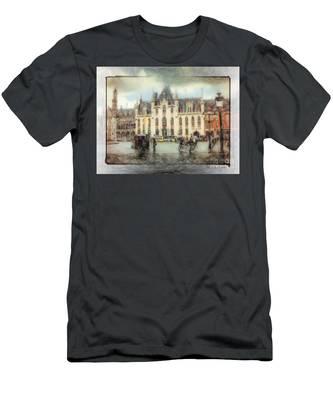 Bruges, Belgium Men's T-Shirt (Athletic Fit)