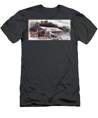 Buninyong Dairy Men's T-Shirt (Athletic Fit)