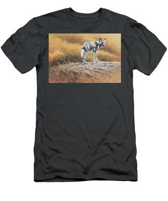 Cape Hunting Dog Men's T-Shirt (Athletic Fit)