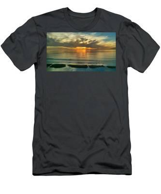 Carlsbad Beach  Men's T-Shirt (Athletic Fit)