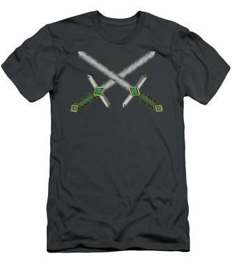 Celtic Daggers Men's T-Shirt (Athletic Fit)