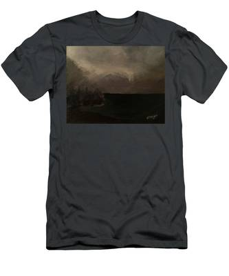 Cold Fog And Sea Men's T-Shirt (Athletic Fit)