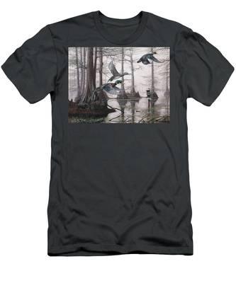 Cypress Bayou Neighbors Men's T-Shirt (Athletic Fit)