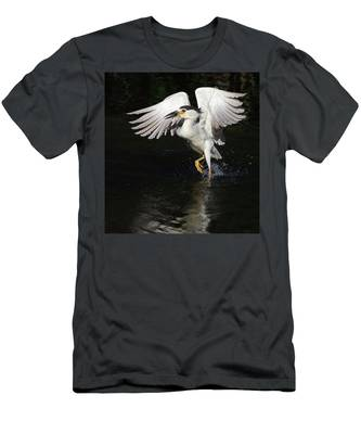 Dance On Water. Men's T-Shirt (Athletic Fit) by Evelyn Garcia