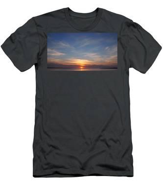 Dark Sunrise Men's T-Shirt (Athletic Fit)