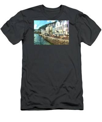 Bayards Cove Dartmouth Devon  Men's T-Shirt (Athletic Fit)