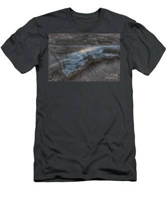 Delaware Water Gap In Winter #6 Men's T-Shirt (Athletic Fit)