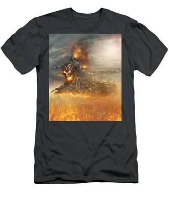 Devils Train 2 Men's T-Shirt (Athletic Fit)