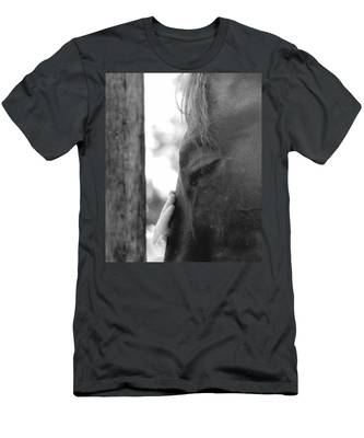 Don't Be Afraid Men's T-Shirt (Athletic Fit)