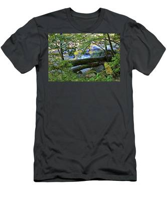 Down By The River Men's T-Shirt (Athletic Fit)