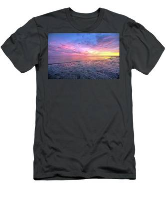 Men's T-Shirt (Athletic Fit) featuring the photograph End Of The Day. by Evelyn Garcia