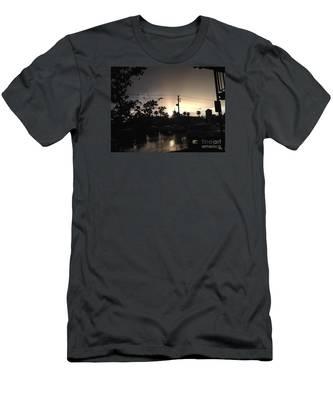 Exhale Men's T-Shirt (Athletic Fit)
