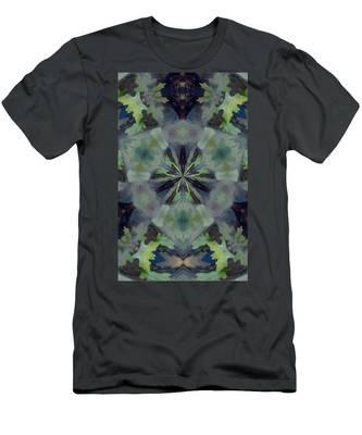 Fantasy Leaves Men's T-Shirt (Athletic Fit)
