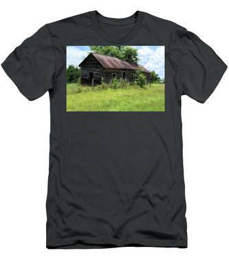 Farmhouse Abandoned Men's T-Shirt (Athletic Fit)