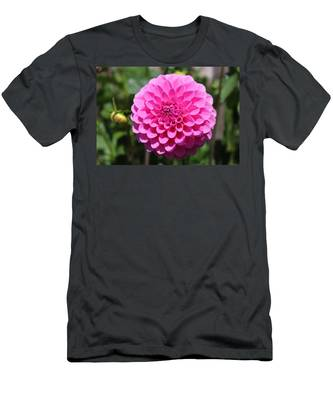 Men's T-Shirt (Athletic Fit) featuring the photograph Flower 5 by Christy Pooschke