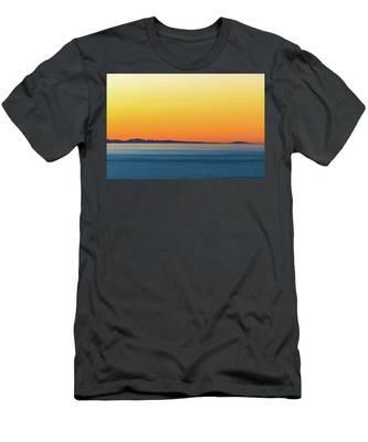 Golden Sunset Series I Men's T-Shirt (Athletic Fit)