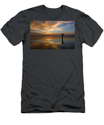 Men's T-Shirt (Athletic Fit) featuring the photograph Gratitude  by Christy Pooschke
