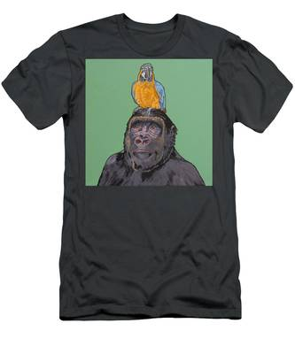 Gregory The Gorilla Men's T-Shirt (Athletic Fit)