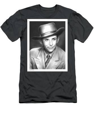 Hank Williams Men's T-Shirt (Athletic Fit)