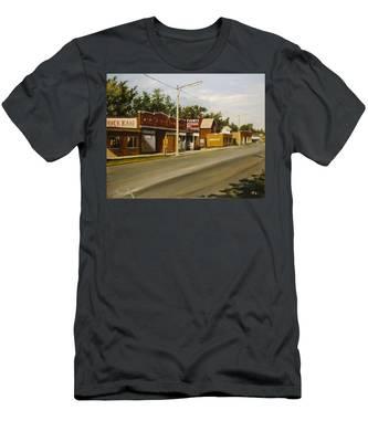 Harvey Paint Store Men's T-Shirt (Athletic Fit)