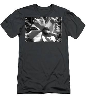 Hibiscus In Bloom Men's T-Shirt (Athletic Fit)