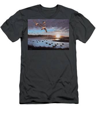 Humphrey Farm Pintails Men's T-Shirt (Athletic Fit)