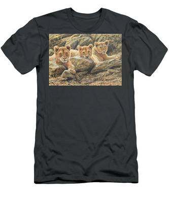 Interrupted Cat Nap Men's T-Shirt (Athletic Fit)
