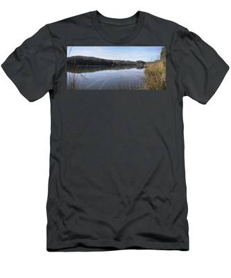 Lake Zwerner Early Spring Men's T-Shirt (Athletic Fit)