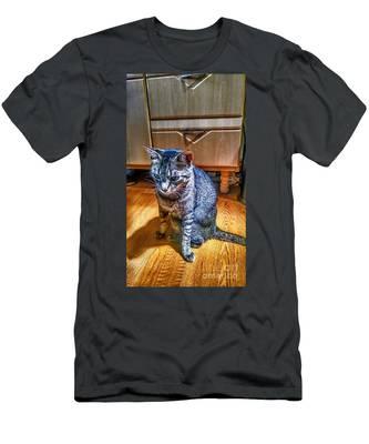Le Chat Gris Men's T-Shirt (Athletic Fit)