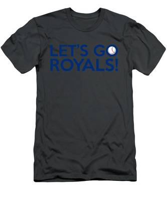 Let's Go Royals Men's T-Shirt (Athletic Fit)