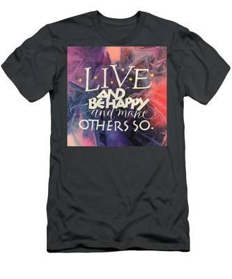 Live Men's T-Shirt (Athletic Fit)
