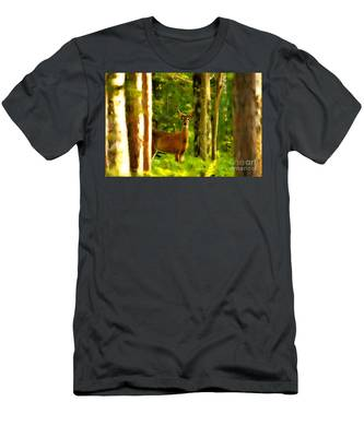 Look Deep Into Nature Men's T-Shirt (Athletic Fit)