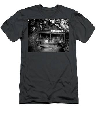 Luckenbach Texas Men's T-Shirt (Athletic Fit)