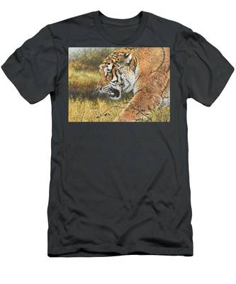 Lunch Time Men's T-Shirt (Athletic Fit)