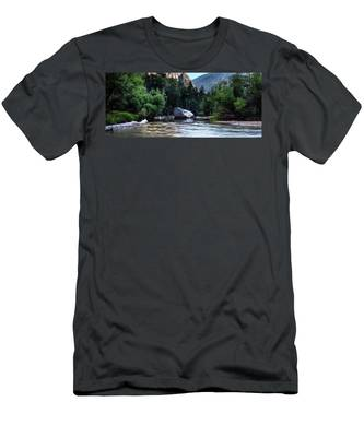 Mirror Lake- Men's T-Shirt (Athletic Fit)