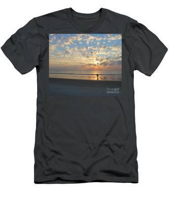 Morning Run Men's T-Shirt (Athletic Fit)