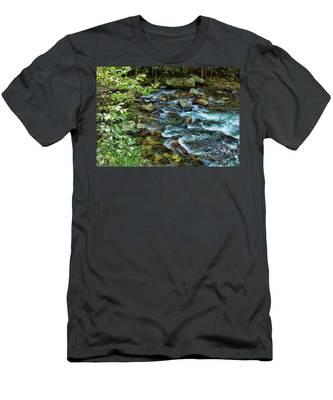 Mountain Music Men's T-Shirt (Athletic Fit)