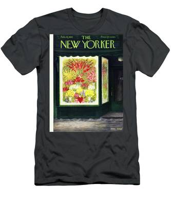New Yorker February 14 1953 Men's T-Shirt (Athletic Fit)