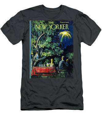 New Yorker July 2 1960 Men's T-Shirt (Athletic Fit)