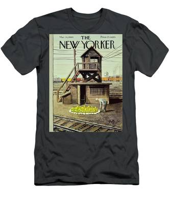 New Yorker March 26 1960 Men's T-Shirt (Athletic Fit)