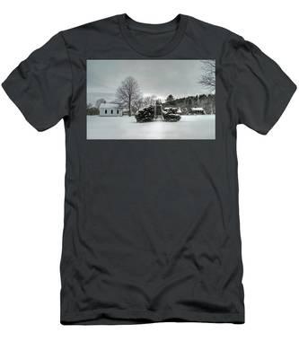 Newbury Lower Green Men's T-Shirt (Athletic Fit)